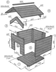 Dog owners have to consider several factors when buying or building a house for . - Dog owners have to consider several factors when buying or building a house for their pets. Pallet Dog House, Dog House Plans, Dyi Dog House, Build A Dog House, Cool Dog Houses, Play Houses, Large Dog House, Backyard For Kids, Large Homes