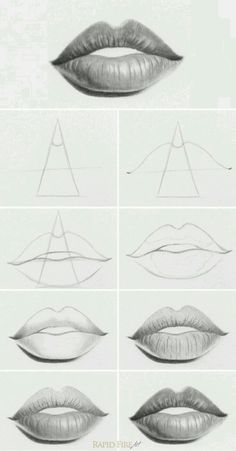 Lip tutorial in a SIMPLE and EASY way that your mind can see EASILY!