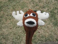 The new deer golf headcover