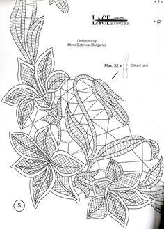 Crochet Video, Form Crochet, Crochet Motif, Diy Crochet, Crochet Flowers, Irish Crochet Patterns, Bobbin Lace Patterns, Lace Embroidery, Embroidery Patterns