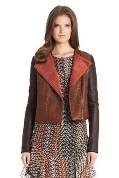 Blaze Quilted Leather Moto Jacket (Too much money)