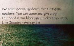 "The Dirty Heads - Sloth's Revenge. ""Goonies Never Say Die"""
