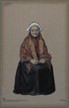 Queer Art, Historical Costume, Vintage Cards, Old Women, Folklore, Costume Design, Make Me Smile, Netherlands, Holland
