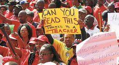 South African Democratic Teachers's Union strike in vain