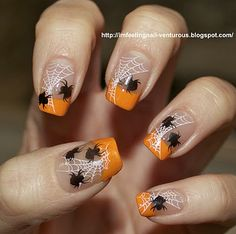 IM FEELING NAIL-VENTUROUS: Halloween Nail Design