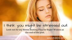I think you might be Stressed Out We are all exposed to stress, let me tell you some more about stress. Health And Nutrition, Health Tips, Health And Wellness, Stressed Out, Our Body, Told You So, Weight Loss, Let It Be, How To Plan