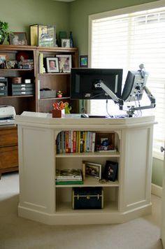 tall teacher desk diy - Google Search