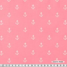 Sarah Jane Out to Sea Anchors Away in Blossom Sarah Jane Out to Sea Anchors Away in Blossom (DC5627_Blossom) Michael Miller fabric for patchwork and quilting from Eclectic Maker [DC5627_Blossom] : Eclectic Maker, patchwork, quilting and dressmaking fabric, patterns, habberdashery and notions.