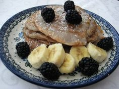Brombeer-Pancakes