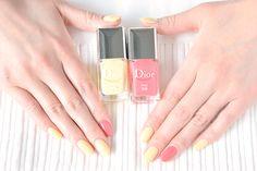 ネイルのカラーはいつもピンク・ベージュ?!いやいや、夏なら指先からもっと楽しんじゃいましょ♡5/1発売!Dior2015夏、新作ネイルとシロップネイルの使用感をいち早くご紹介いたします