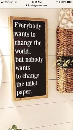 Bathroom humor, diy home decor, bathroom signs Bathroom Humor, Bathroom Signs, Bathroom Ideas, Bathroom Wall, Funny Bathroom Quotes, Target Bathroom, Bathroom Organisation, Downstairs Bathroom, Unique Home Decor