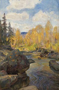 Thorolf Holmboe 1866-1935: Høst Mesna