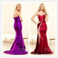 2014 Sexy beach sweetheart sleeveless with crystal long stain Prom Dress custom-made  FSL-133 $168.99