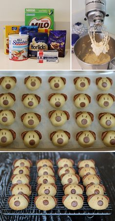 These cute little doggie cookies are my go to when I attend children's birthday parties. Kids love them and they're so easy to make. Th...