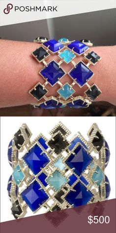 ISO Kendra Scott blue Selene cuff Wanting to get this for my moms birthday but cannot find anywhere! Any help would be greatly appreciated! Kendra Scott Jewelry Bracelets