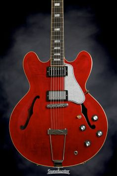 Gibson Memphis ES-335 12-String - Antique Cherry Vintage Gloss for $3K