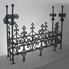 antique vintage iron widow/'s walk panel multiple available