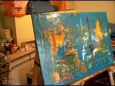 Live abstract schilderen - YouTube