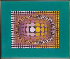 Oval par Victor Vasarely