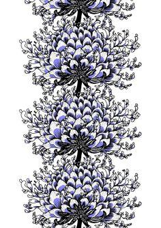 Vallila Interior Memento white violet