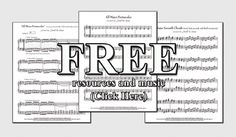 FREE Piano music and resources by Jerald M. Simon and Music Motivation (original compositions, chord progressions, scales, piano teacher handouts, and more) Piano Exercises, Music Websites, Keyboard Lessons, Middle School Music, Free Piano, Piano Teaching, Elementary Music, Piano Sheet Music, Music Classroom