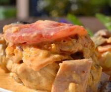 Rezept Schweinefiletpfanne mit Champignons von Danis treue Küchenfee - Rezept der Kategorie Hauptgerichte mit Fleisch