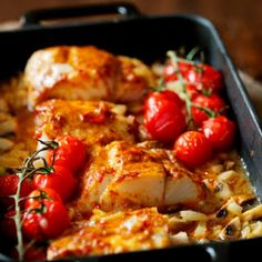 Oven-baked Thai Cod