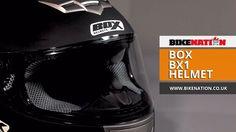 BOX - BX-1 Helmet - BikeNation  #box #crashhelmet #helmets #BX1 #bikenationuk