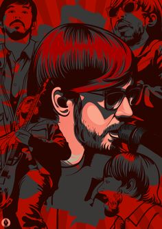 Kenji (Mike Shinoda) by Vincent Rhafael Aseo, via Behance