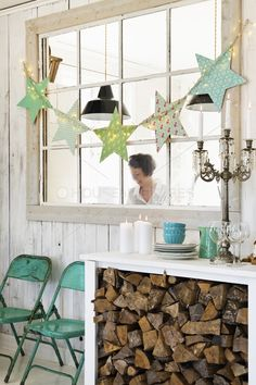 Love the wood storage under a table – would be great for the future cabin. Love the wood storage under a table – would be great for the future cabin. Diy Storage Table, Diy Table, Wood Storage, Wood Crafts, Christmas Crafts, Christmas Photos, Christmas Decorations, Craft Room Tables, Turquoise Christmas