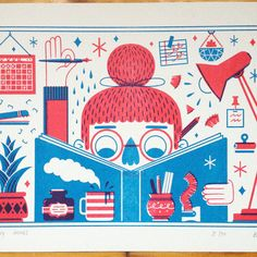 Hey, I found this really awesome Etsy listing at https://www.etsy.com/listing/210966347/making-things-risograph-print