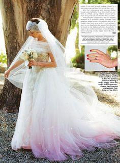 O vestido de Anne Hathaway