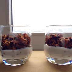 Homemade granola feat. homemade yoghurt