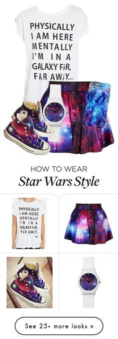 """""""Untitled #187"""" by percyjacksonfangirl2 on Polyvore featuring Forever 21, Converse, women's clothing, women's fashion, women, female, woman, misses and juniors"""