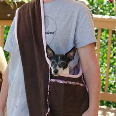 Dog Carrier PDF Sewing Pattern Small Dog Purse