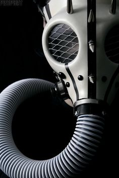 sekigan:  Cool custom gas mask! | Hannibal | Pinterest