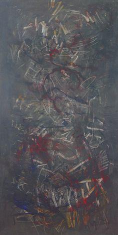 """Lidia Zdzieszyńska """"Dzień po dniu"""", olej na płótnie /""""Day by day"""", oil on canvas/, 60x120cm"""