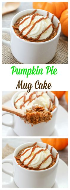 Single Serving Pumpkin Pie! No need to buy or make an entire pie or wait for Thanksgiving!