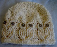 Crochet beanie for teen or adult female by WalltoWallCrafts, $25.00