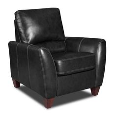 Chelsea Home Furniture Madison Bonded Leather Push Back Recliner - 730275-8621-48099