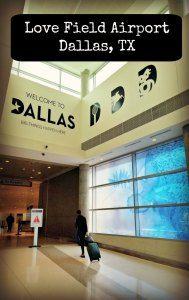 Visita al aeropuerto de Love Field en Dallas, Texas #EstadosUnidos #EEUU #aeropuertos