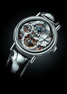 Breguet CLASSIQUE Skeleton tourbillon, Breguet Timepieces and Luxury Watches on Presentwatch