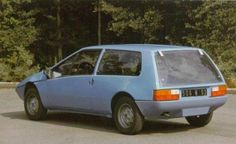 OG | 1975 Renault 14 Coupé - Projet 121 | Designed by Broyé from the Gaston Juchet's team and built by Ligier