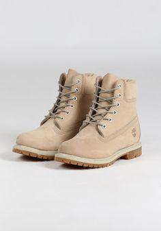 fd6fba087c5a4 TIMBERLAND WMNS 6 INCH PREMIUM - CREAM Timberland Boots Outfit, Timberlands  Shoes, Timberland 6