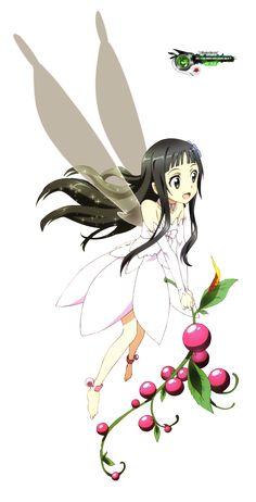 Yui - By Sword Art Online Kirito and Asuna ღ M Anime, I Love Anime, Awesome Anime, Anime Chibi, Anime Girls, Arte Online, Online Art, Yui Sword Art Online, Minions