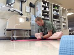 Occupational therapy and adaptive #yoga helps wounded warriors heal.