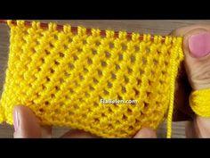 Bayan yelek ve hırkaları için güzel bir örgü modeli - YouTube Baby Knitting Patterns, Easy Crochet Patterns, Knitting Stitches, Knitted Shawls, Crochet Hats, Teapot Cover, Cardigan Design, Knitting Videos, Yarn Shop