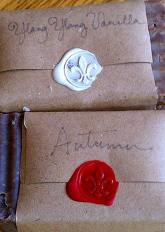 really like the packaging great blog on studio visit and how to make soap