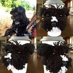 Custom Morkie Cozy #hookedbyangel #customcozy #morkiecuteness #dog2cute