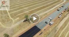 Como Se Constrói Uma Estrada Com 4,9 Km Na Austrália Em Apenas 2 Dias